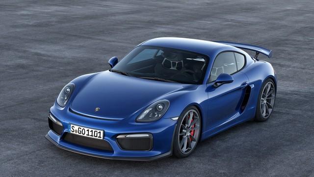 Porsche Cayman GT4 chính thức trình làng với giá 84.600 USD