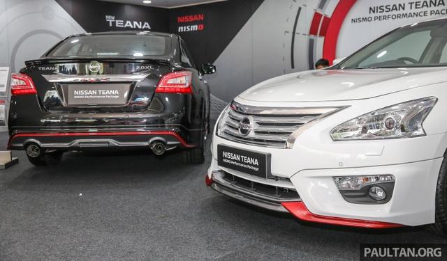 Nissan Teana thể thao hơn với gói phụ kiện chính hãng - Ảnh 1.