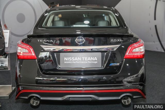Nissan Teana thể thao hơn với gói phụ kiện chính hãng - Ảnh 3.