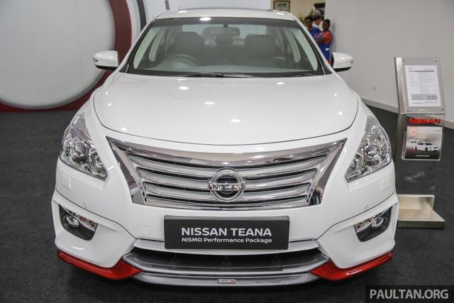 Nissan Teana thể thao hơn với gói phụ kiện chính hãng - Ảnh 4.