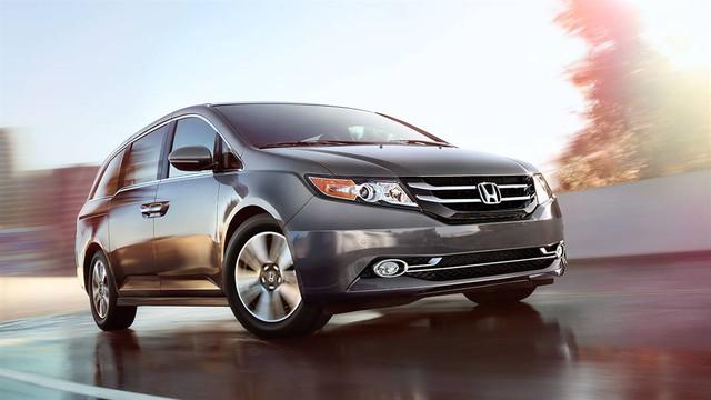 Honda Odyssey 2018 lần đầu tiên xuất đầu lộ diện - Ảnh 1.