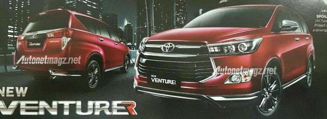 Toyota Innova Venturer sắp ra mắt tiếp tục lộ diện - Ảnh 1.