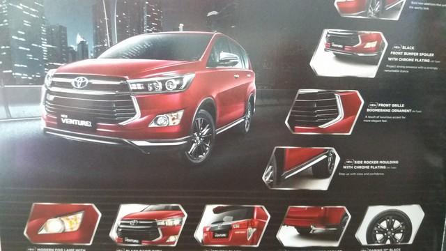 Toyota Innova Venturer sắp ra mắt tiếp tục lộ diện - Ảnh 2.