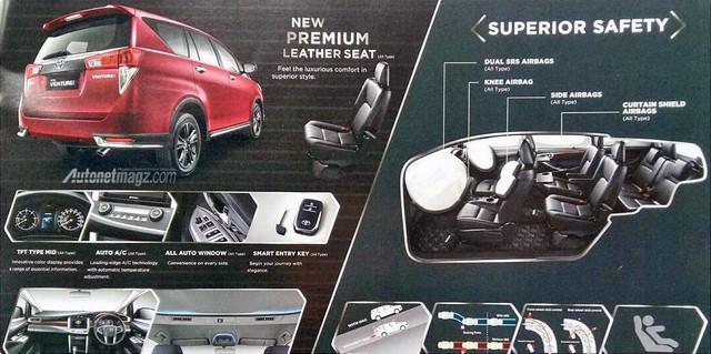 Toyota Innova Venturer sắp ra mắt tiếp tục lộ diện - Ảnh 3.