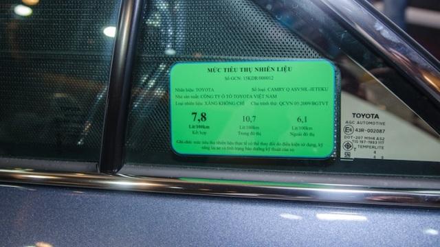 """Đề xuất dán """"Nhãn năng lượng"""" với ô tô 9 chỗ"""