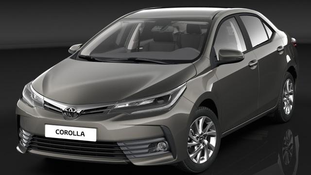 Đây có thể là Toyota Corolla Altis 2017 sẽ về Việt Nam