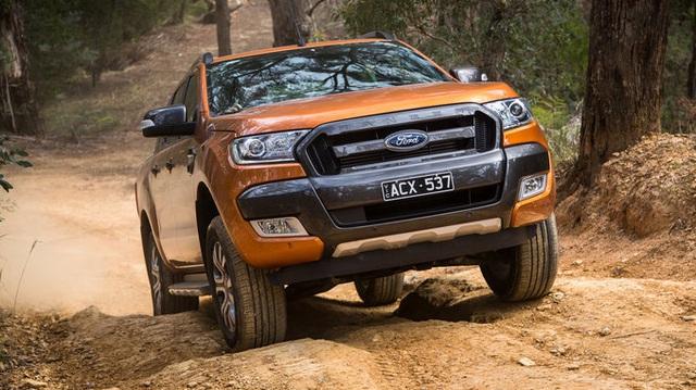 Ford Ranger 2016 ra mắt Đông Nam Á với giá khởi điểm 467 triệu Đồng
