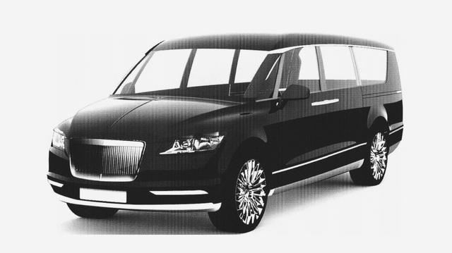 Minivan hạng sang của Tổng thống Nga lộ diện
