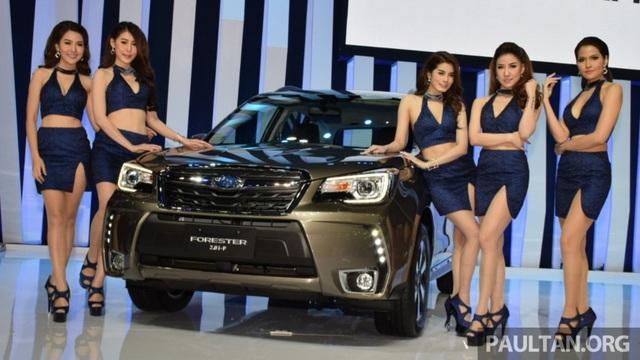 Subaru Forester 2016 sắp ra mắt Việt Nam trình làng tại Thái Lan