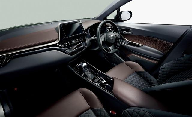 Toyota C-HR bắt đầu ra đại lý tại Nhật Bản, giá từ 488 triệu Đồng - Ảnh 3.