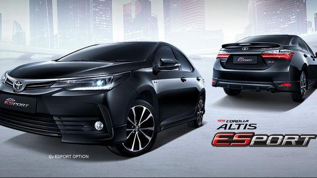 Làm quen với phiên bản thể thao của Toyota Corolla Altis 2017 sẽ về Việt Nam