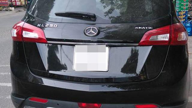 Xe Trung Quốc được biến thành Mercedes-Benz ML tại Vĩnh Phúc