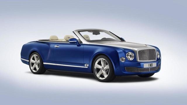Bentley Mulsanne sắp có phiên bản mui trần, giá lên đến 1,5 triệu USD
