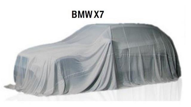 SUV hạng sang BMW X7 2019 bất ngờ xuất đầu lộ diện