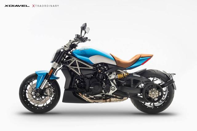 Hình ảnh thông cáo báo chí của Ducati XDiavel Xtraordinary Oceano