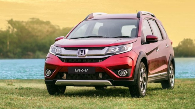 Xe 7 chỗ Honda BR-V gây choáng với mức tiêu thụ nhiên liệu 4,5 lít/100 km