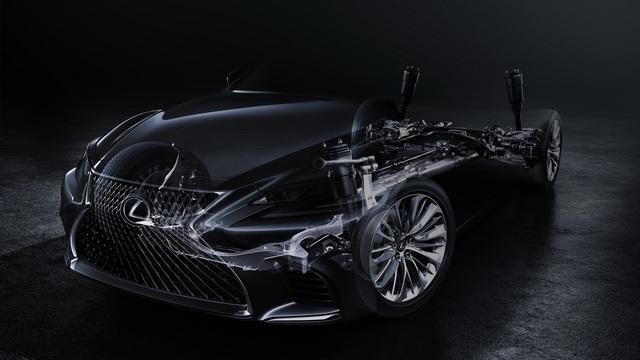 Sedan hạng sang cỡ lớn Lexus LS 2018 lần đầu lộ diện