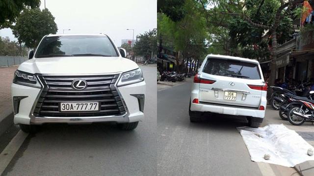 """Lexus LX570 2016 biển """"ngũ quý 7"""" xuất hiện tại Hà Nội"""
