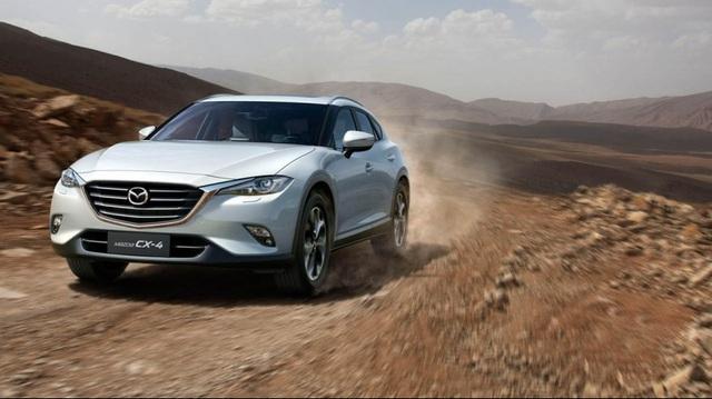 """Mazda CX-4 - """"Trái cấm"""" khiến nhiều người """"phát thèm"""""""