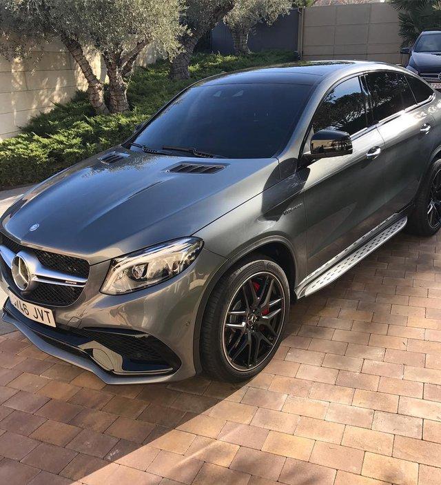 Cristiano Ronaldo mua thêm SUV hạng sang Mercedes-AMG GLE63 S Coupe  - Ảnh 1.