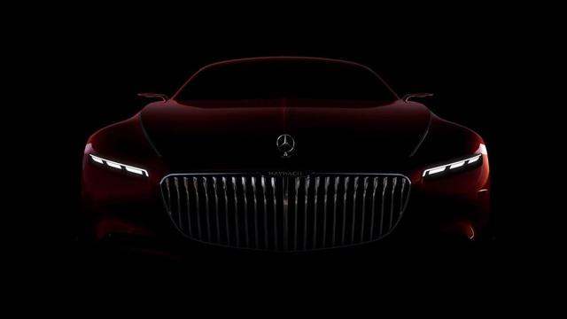 Mercedes-Maybach 6 Concept lộ diện thêm, cạnh tranh với Rolls-Royce Wraith