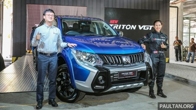 Xe bán tải Mitsubishi Triton nâng cấp ra mắt, giá từ 599 triệu Đồng