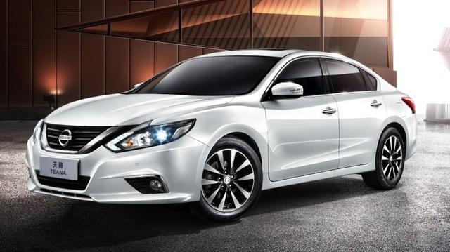 Nissan Teana 2016 ra mắt với thiết kế trẻ trung hơn, đe dọa Toyota Camry
