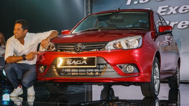 Xe dưới 200 triệu Proton Saga 2016 trình làng, cạnh tranh Mazda2