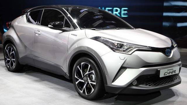 Chi tiết Toyota C-HR dành cho thị trường Đông Nam Á