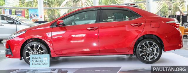Dự kiến, Toyota Corolla Altis 2017 sẽ sớm ra mắt tại các thị trường Đông Nam Á khác, trong đó có cả Việt Nam.