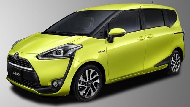 Xe gia đình 7 chỗ Toyota Sienta 2016 sẽ rẻ hơn Innova