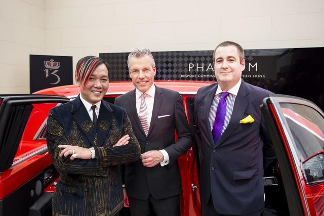 Rolls-Royce Phantom do tỷ phú Stephan Hung đặt mua có tên riêng là Louis XIII Special Edition. Xe được đặt tên theo tập đoàn Louis XIII Holdings do ông Hung làm chủ. Tổng cộng 30 chiếc Rolls-Royce Phantom do ông Hung đặt hàng đều được dùng để phục vụ hoạt động của khách sạn The 13 tại Macao.