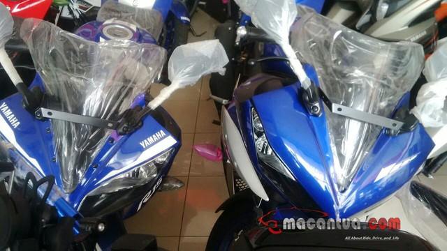 Hình ảnh rò rỉ của Yamaha R15 phiên bản đặc biệt.