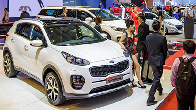 Tiếp tục điều chỉnh thuế ôtô nhập khẩu?