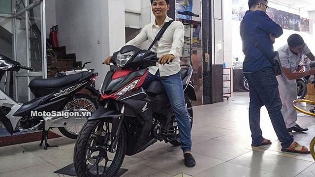 Honda Winner 150 xuất hiện ở đại lý, có nơi bán với giá 49 triệu Đồng