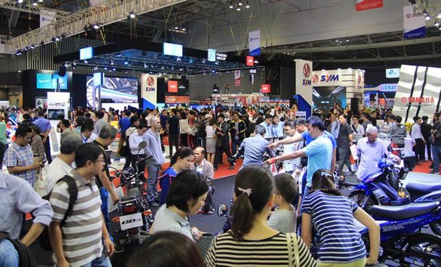 6 tháng, Việt Nam tiêu thụ hơn 1,44 triệu xe máy