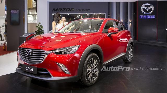 Cận cảnh Mazda CX-3 - Kẻ đe doạ ngôi vương của Ford Ecosport