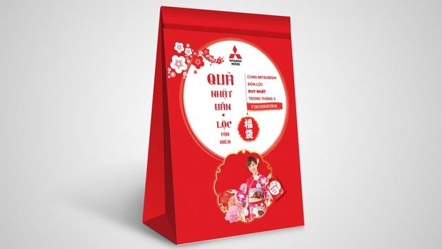 Chọn quà Nhật, sắm vận may với Mitsubishi Motors
