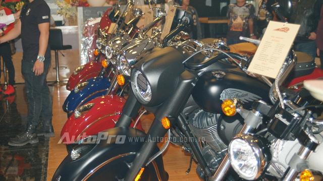 Diện kiến 10 mẫu xe Indian và Victory đang phân phối chính hãng tại Việt Nam