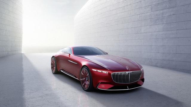 Siêu phẩm Vision Mercedes-Maybach 6 hiện nguyên hình