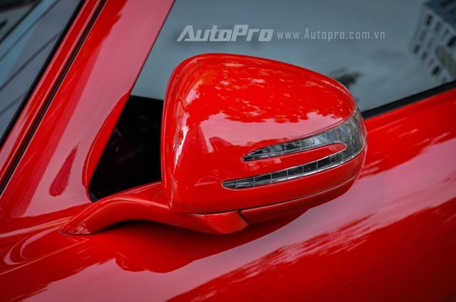 Mercedes-Benz SLS AMG 11,8 tỷ Đồng của tay chơi Bình Định tái xuất trên phố Sài thành - Ảnh 13.