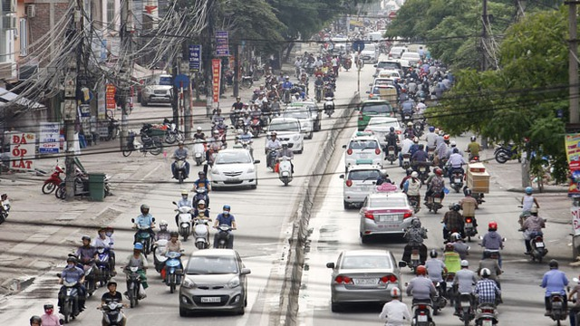 Hà Nội tính dừng lưu thông xe máy vào năm 2025