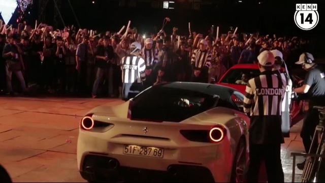 "Hà Hồ mang Ferrari 488 GTB của Cường ""Đô-la"" đến live concert Noo Phước Thịnh"