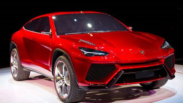 Lamborghini Urus sẽ dùng động cơ hybrid
