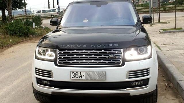 Thêm một đại gia Thanh Hóa tậu Range Rover SVAutobiography 12 tỷ Đồng