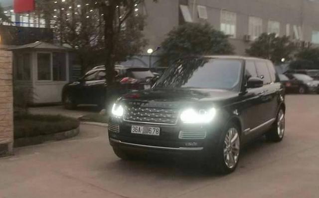 Range Rover SVAutobiography trị giá 12 tỷ Đồng của nữ đại gia Thanh Hóa.