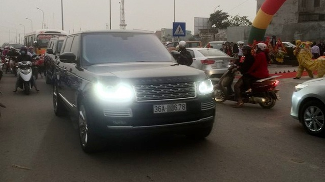 Nữ đại gia Thanh Hóa tậu Range Rover SVAutobiography trị giá 12 tỷ Đồng