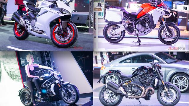 """Toàn cảnh dàn mô tô """"khủng"""" nhất của Ducati tại Audi Progressive"""