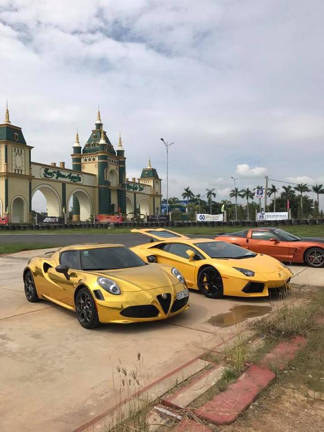 Dàn siêu xe Việt đua drag 400m tại trường đua Happy Land - Ảnh 5.