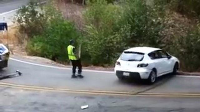 Hậu quả của việc cứu hộ xe tai nạn mà quên kéo phanh tay